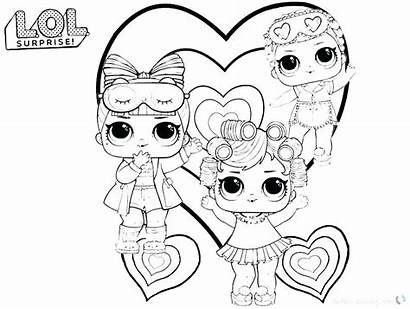 Doll Drawing Dolls Clip Coloring Clipartmag