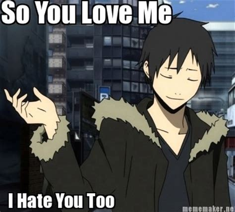 Durarara Memes - 1izaya orihara images izaya meme wallpaper and background photos 34462658