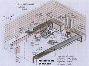 Diagram Of Kurt Cobain Crime Scene