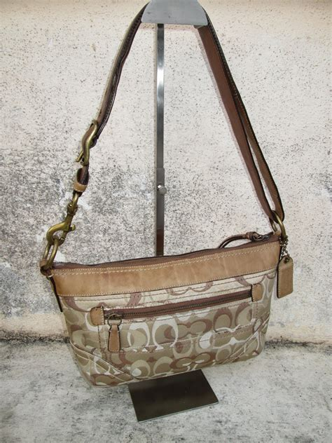 drayakeebag authentic coach signature shoulder bagsold