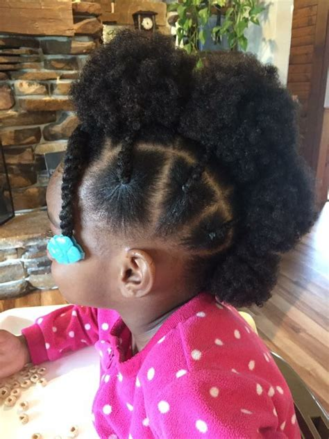 cute easy hairstyles for black babies hair