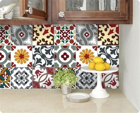 sticker faience cuisine kitchen bathroom tile decals vinyl sticker barcelona