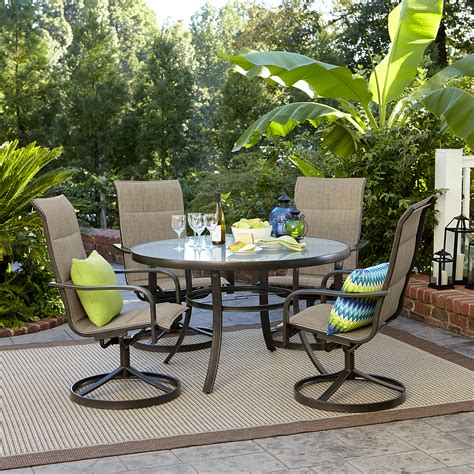 Garden Patio Furniture Sets by Garden Oasis Miranda 5 Dining Set Shop Your Way