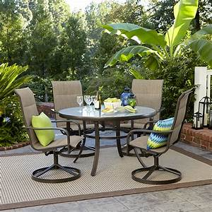 Garden Oasis Miranda 5 Piece Dining Set