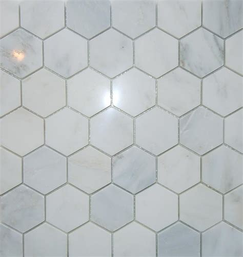 Carrara Marble Tile Hexagon by Classic Tile Marble Inc Ny 11214 718 331 2615