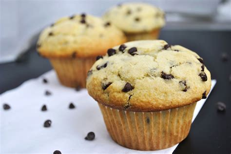 Chocolate Chip Muffins – Go Eat and Repeat