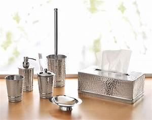 Accessoires Pour Salle De Bain : accessoires de salle de bains m tal martel becquet ~ Edinachiropracticcenter.com Idées de Décoration