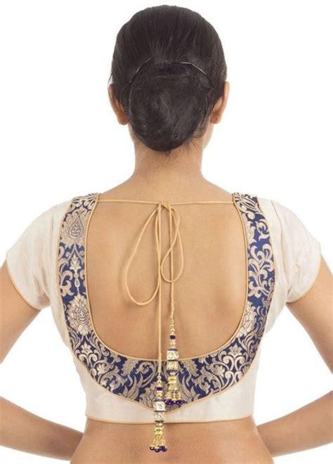 designer blouse  neck design catalogue indian