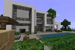 HD wallpapers maison de luxe moderne minecraft tuto ...