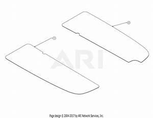 Troy Bilt 13wn77bs011 Pony  2017  Parts Diagram For Footpad