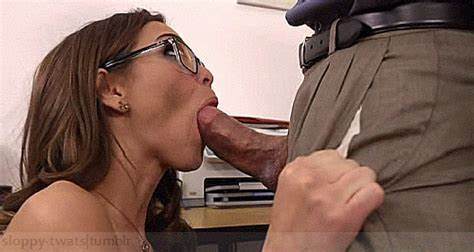Secretary In Pants Is Banged Drilling Wildly