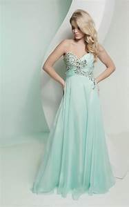 Pastel mint bridesmaid dress with beading onewedcom for Mint dresses for wedding