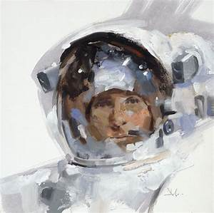 Astronaut Paintings by Gregory Manchess - RobotSpaceBrain