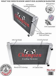 Bc Champion 3 Row Dual Pass Universal Crossflow 26 U0026quot  Core