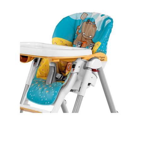 housse chaise peg perego housse de chaise haute peg perego hippo giallo les bébés