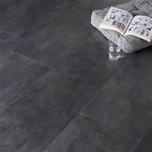 Pose Dalle Pvc Clipsable : dalle pvc clipser clic beton anthracite artens 32 4 x 65 5 ~ Dailycaller-alerts.com Idées de Décoration