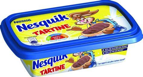 marche de la pate a tartiner nesquik se diversifie sur les beurres 224 tartiner biscuiterie confiserie petit d 233 jeuner