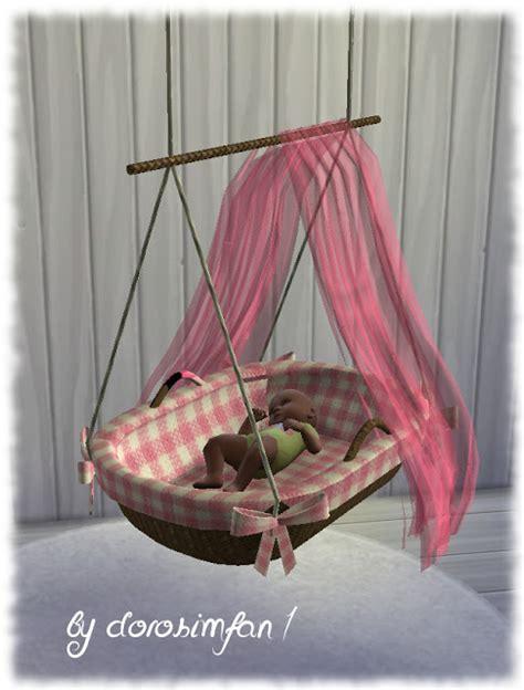 sims  ccs   baby crib  dorosimfan