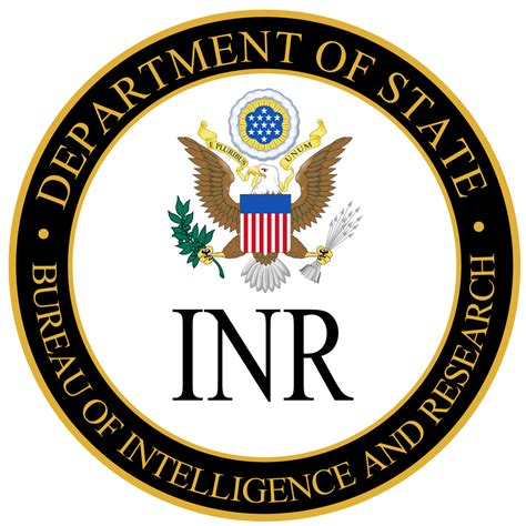 image bureau file bureau of intelligence and research seal svg
