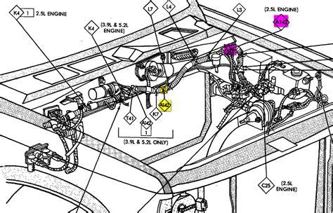 92 Grand Am Engine Diagram by A 1992 Dakota Gt Shut Engine And Would Not Restart