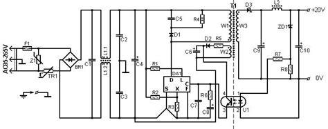 Cer Converter Wiring Diagram by 60 Watt Laptop Battery Charger Circuit Diagram World