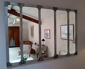 Lovely Maison Du Monde Miroirs 8 Miroir Industriel Deco