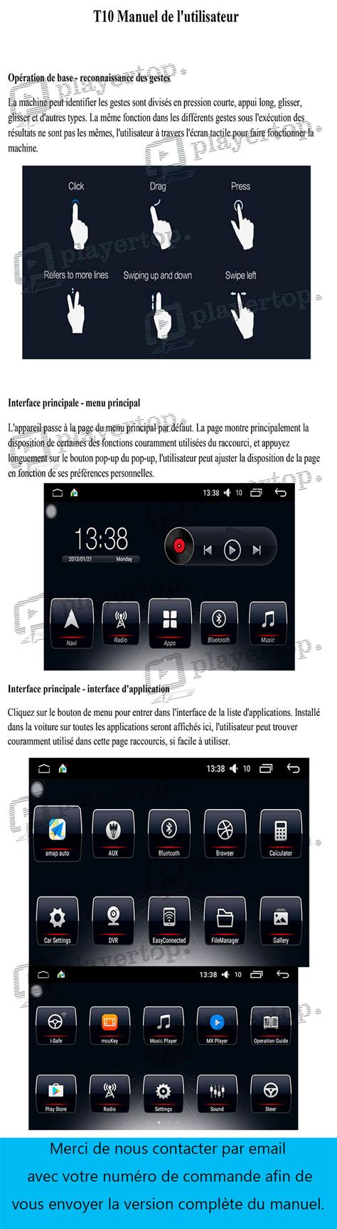 android 6 0 notice autoradio android 6 0 interface 2 player top