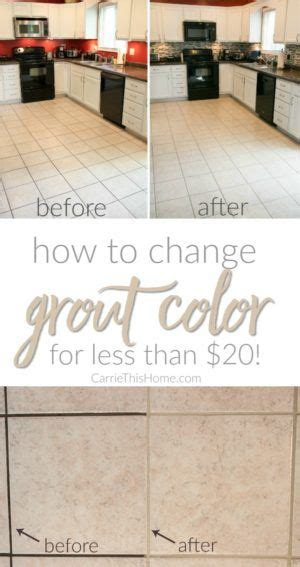 regrout   grout  change color