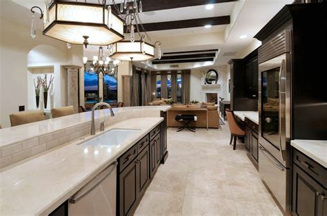 galley kitchen open to living room 30 open concept kitchens pictures of designs layouts 8297
