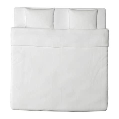 ikea dekbedovertrek wit dvala dekbedovertrek met 2 slopen wit wit 240x220 60x70