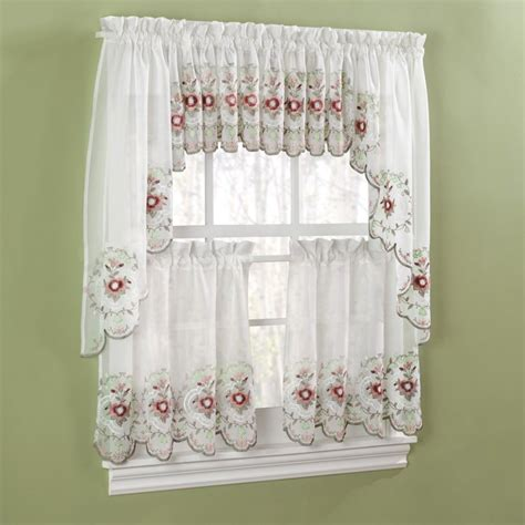 jcpenney kitchen valances jcpenney cafe curtains curtain menzilperde net