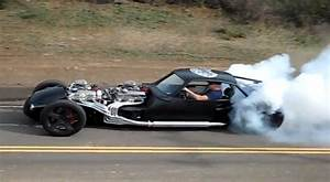 This 1000bhp V16 Rocket Is The Hot Rod From Hell