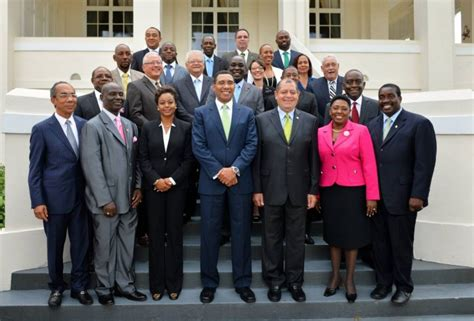 cabinet names and functions the executive jamaica information service