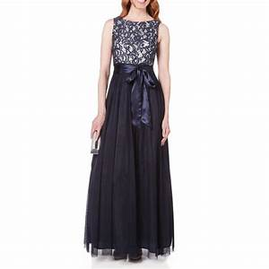 jessica howard boat neck sequined lace to mesh dress at With von maur dresses weddings