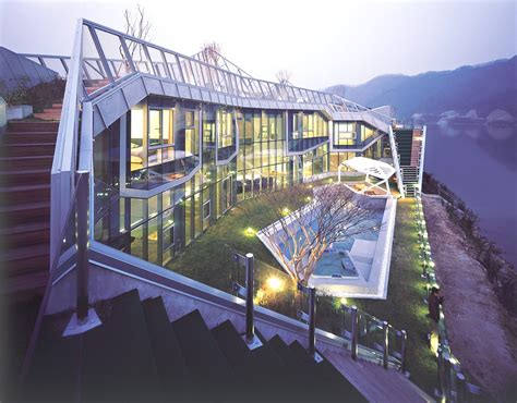 Luxury Island House, South Korea « Adelto Adelto