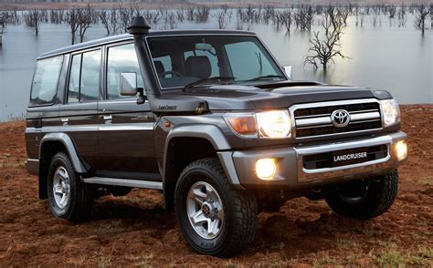 The toyota landcruiser 70 ute stands out with its rugged design and power. Toyota 76 Series Land Cruiser Wagon or Hilux | Land ...