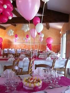 Decoration Pour Bapteme Fille : d co salle pour bapt me petite fille d co bapt me table decorations cake pops et cake ~ Mglfilm.com Idées de Décoration