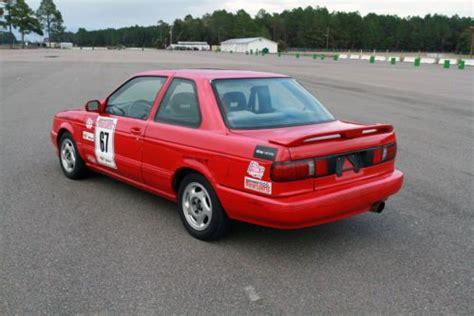 nissan sentra race car sell used 93 sentra se r b13 sr20det t25 turbo scca clean