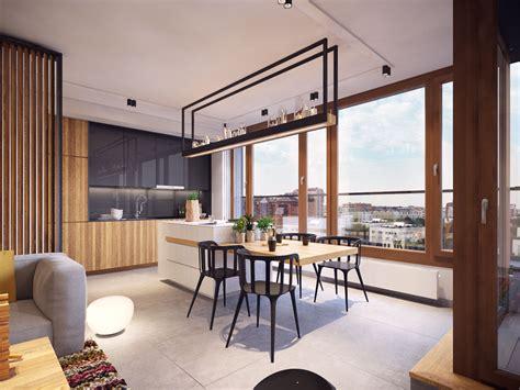 cuisine ouverte design cuisine moderne ouverte sur salon