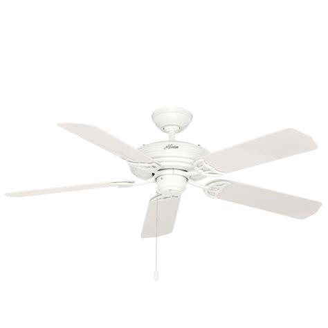 hunter mariner 52 in indoor outdoor white ceiling fan hunter original 52 in indoor outdoor white ceiling fan