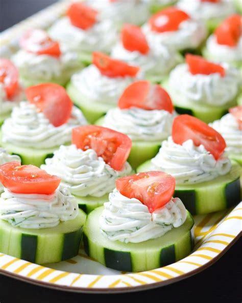 light hors d oeuvres 25 best ideas about small cucumber on pinterest garden