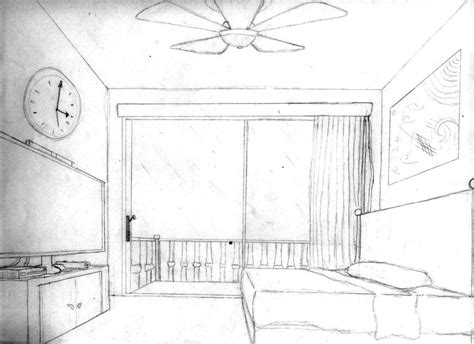 pt perspective bedroom  loreto arts  deviantart