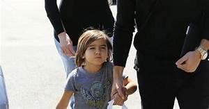 Khloe Kardashian, Scott Disick et son fils Mason du ...