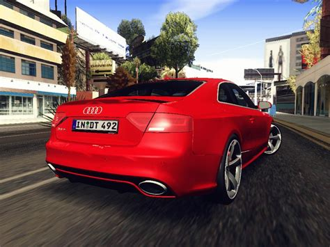Audi Rs5 Modification by Gta San Andreas 2013 Audi Rs5 Mod Gtainside