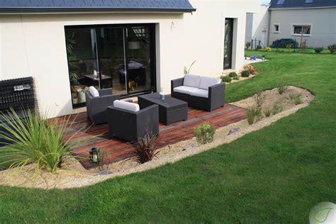 nivrem amenagement terrasse bois jardin diverses id 233 es de conception de patio en bois