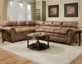 rochester hazelnut two piece sectional sofa contemporary