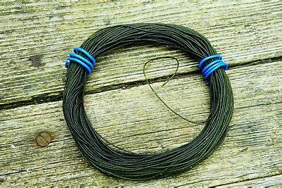 vintage silk trout salmon braided tapered fly fishing