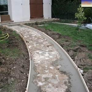Feutre Sous Gravier : faire une allee de jardin en gravier 38189 ~ Premium-room.com Idées de Décoration
