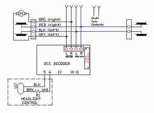 wiring for dcc decoder and sierra sound in bachmann g With dcc decoder wiring