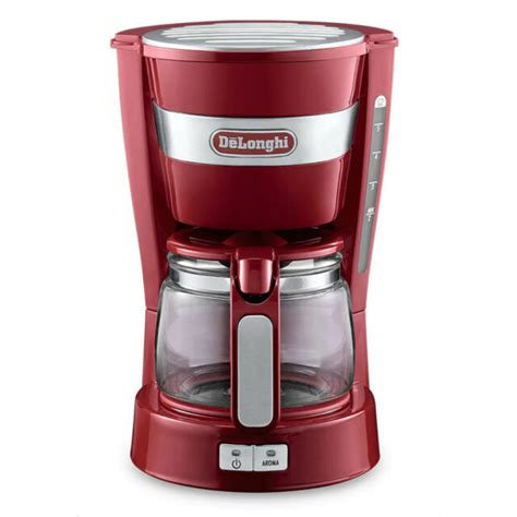 The 5 best drip coffee machines of 2021: DeLonghi ICM14011.R Active Line Red Drip Coffee Maker 220 Volts Export Only | eBay